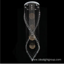 chrome chandeliers lighting modern decorative lights